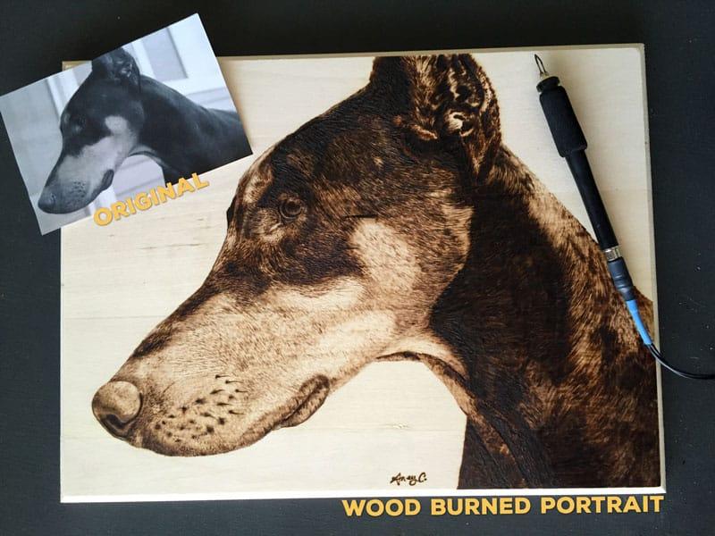 Dog Portrait Giveaway