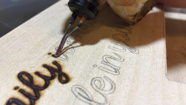 How to Wood Burn Letters for Beginners