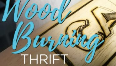DIY Wood Burning Project | Thrift Store Finds