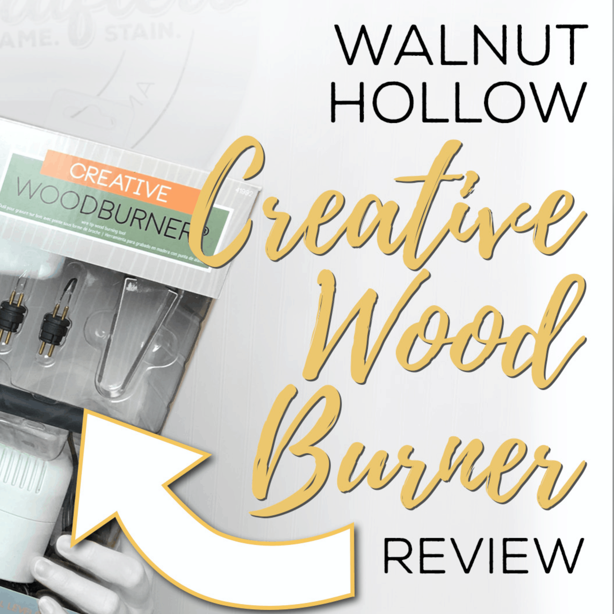 Walnut Hollow Creative Wood Burner Tool Review