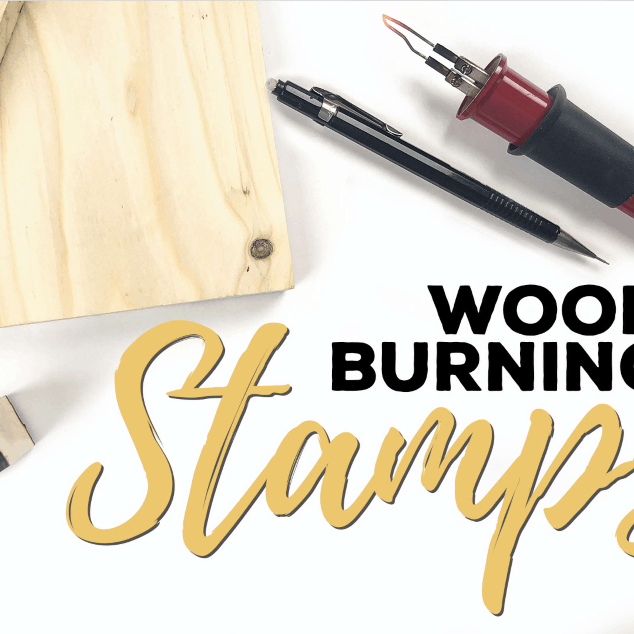 Wood Burning Techniques – Wood Burning Stamps