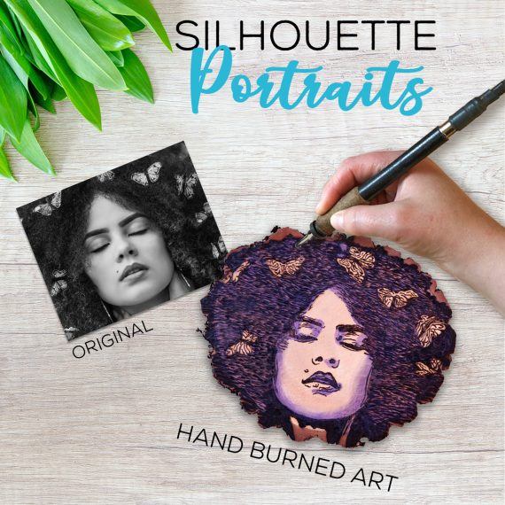 silhouette-portraits