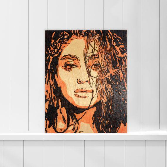 orange-woman